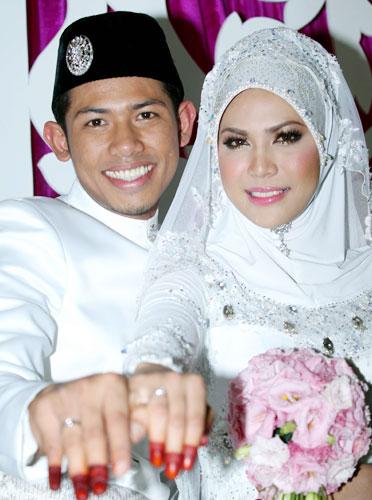 gambar-nabil-nazirah-kahwin