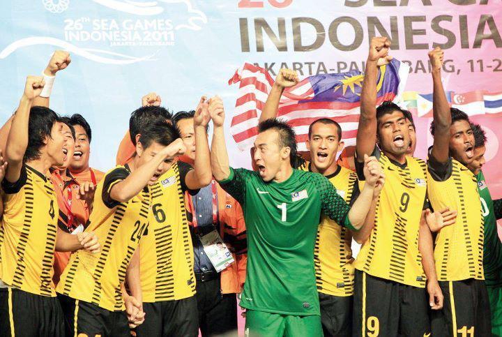Video Final Malaysia VS Indonesia Sukan SEA 2011