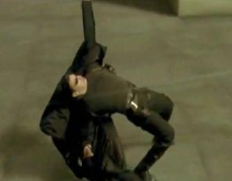 Aksi Gaya Macam Filem Matrix