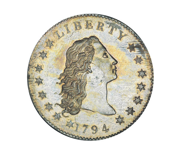 Duit syiling lama Amerika 1794