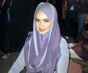 Siti Nurhaliza Fesyen Tudung
