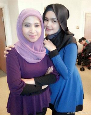 Gambar Siti Nurhaliza Bersama Kakak iparnya