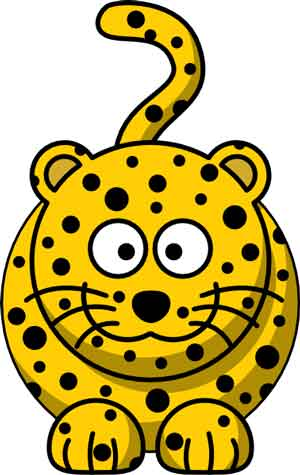 Kartun Harimau Cheetah