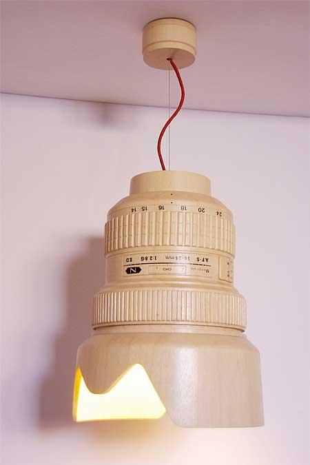 Lampu Kamera Lens yang unik