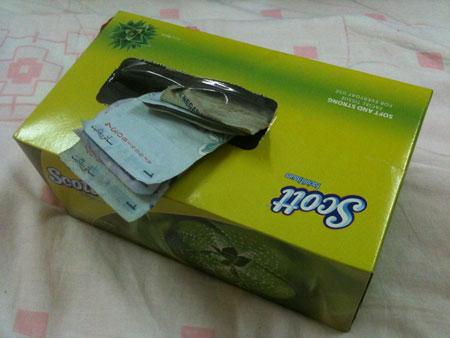 Tabung Kotak Tisu