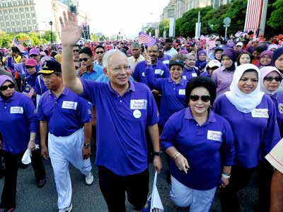 Gambar 1 Million Women Purple Walk
