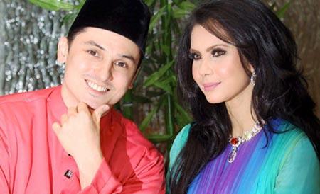 Gambar Rozita Che Wan dan Zain Saidin Berbaju Melayu