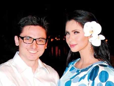 Gambar Zain Saidin bersama rozita Che Wan