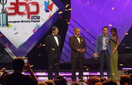 Sam Shaheizy Anugerah Bintang Paling Popular 2012