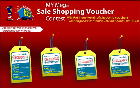Online 1Malaysia Shopping Voucher