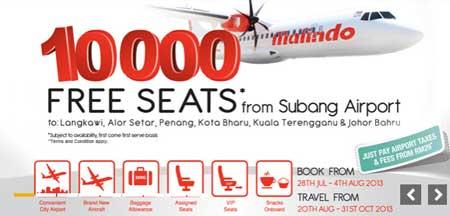Tiket Percuma Kapal Terbang Malindo