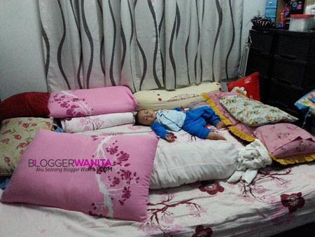 Cara tidur baby Awish 3