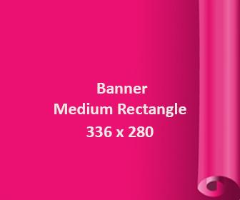 Jenis dan Saiz Banner Large Rectangle 336x280
