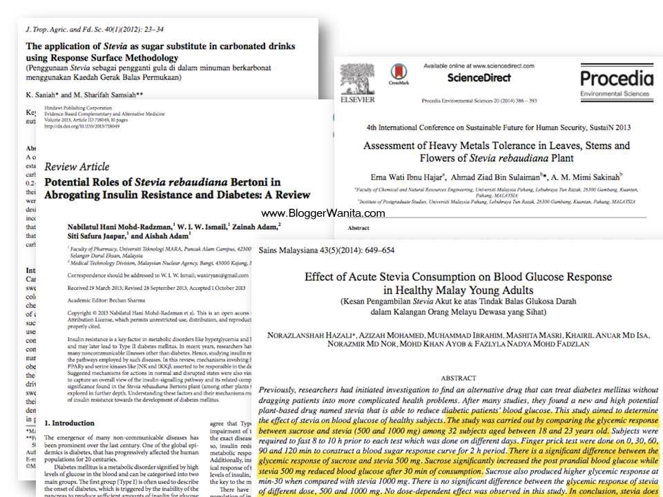 Kajian Saintifik tentang Stevia RCC